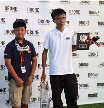 Axel Mario got 2nd place at Drone Japan 2016